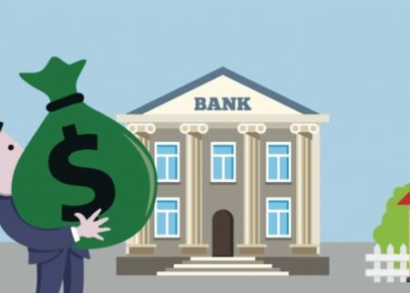 Ex presidente del consiglio va in banca