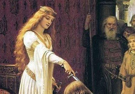 Lancillotto Ginevra re Artù e Merlino