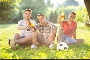 Tre amici al parco