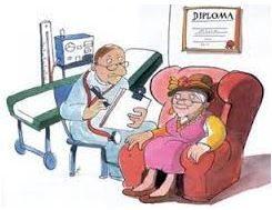 Vecchietti dal dottore – Raccolta