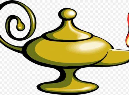 Genio della lampada e 3 desideri