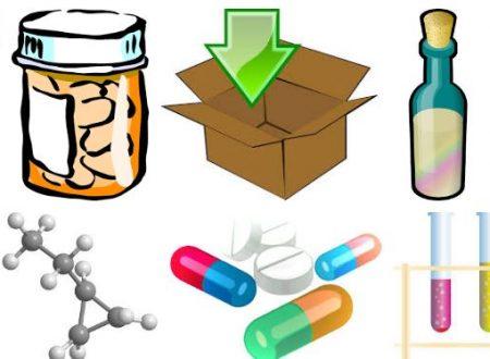 Farmacia con confezioni enormi