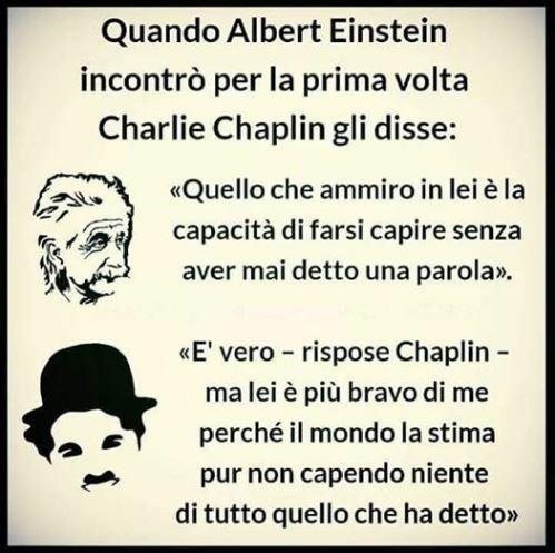 Quando Albert Einstein incontrò