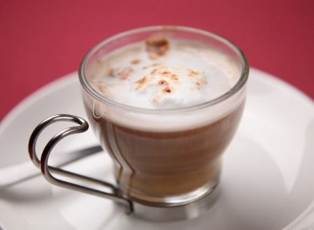 Un bel cappuccino caldo