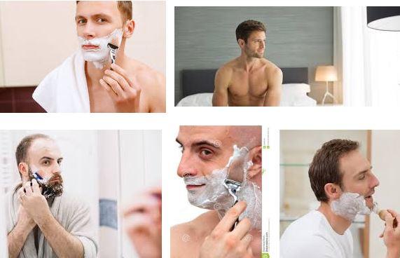 Con barba e senza barba