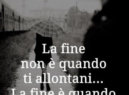 La fine non è quando …
