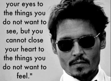 Puoi chiudere gli occhi …