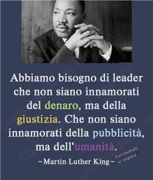 Abbiamo bisogno di leader