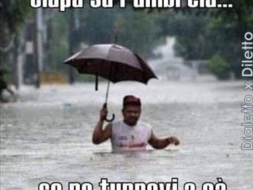 Una grande alluvione