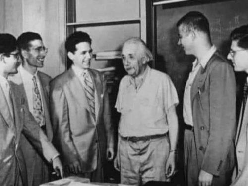 Un giorno Albert Einstein