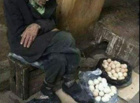 Il vecchio venditore di uova